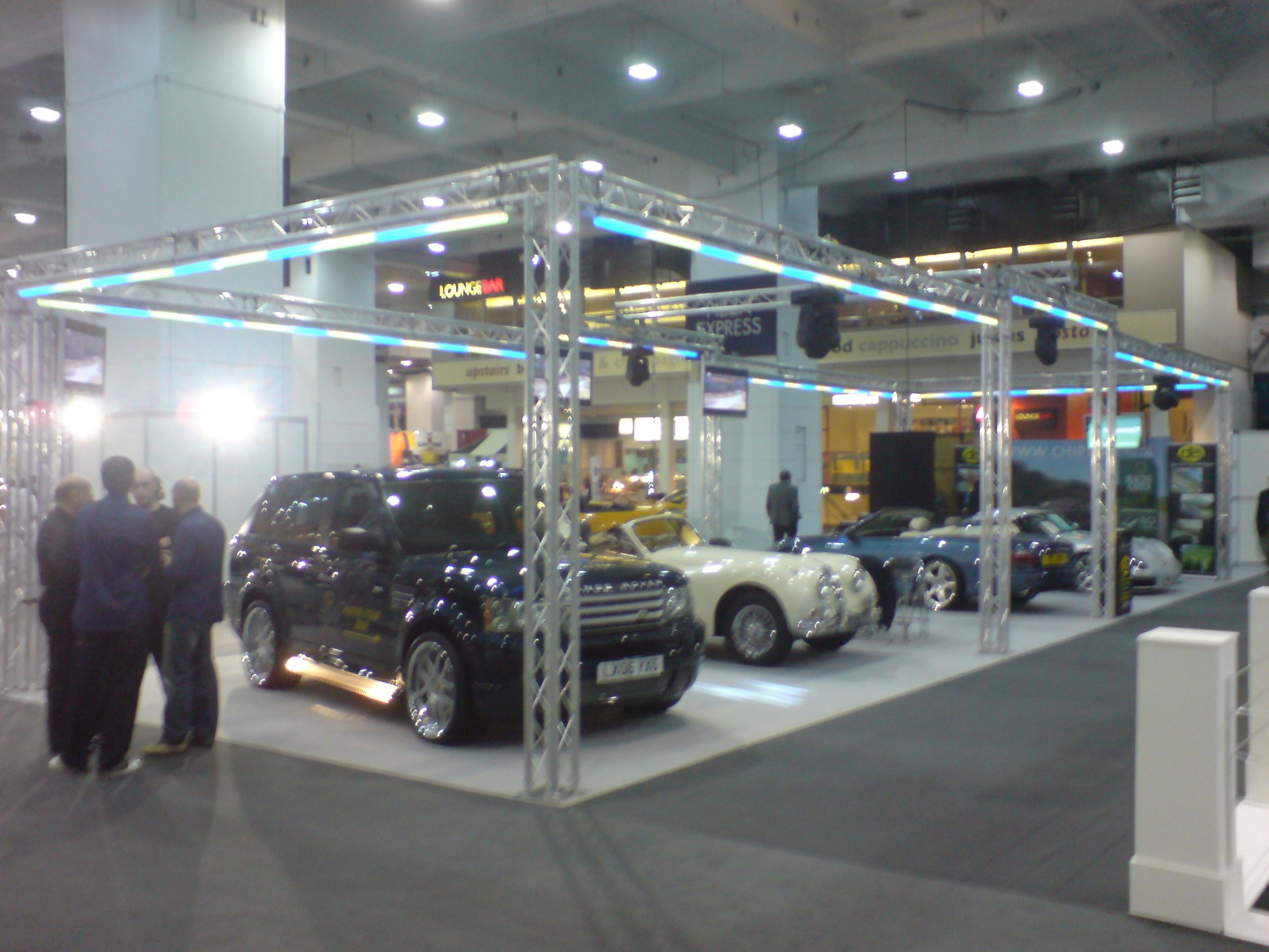 Exhibition hire GEMS NFX