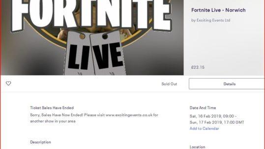 Fortnite Live Web