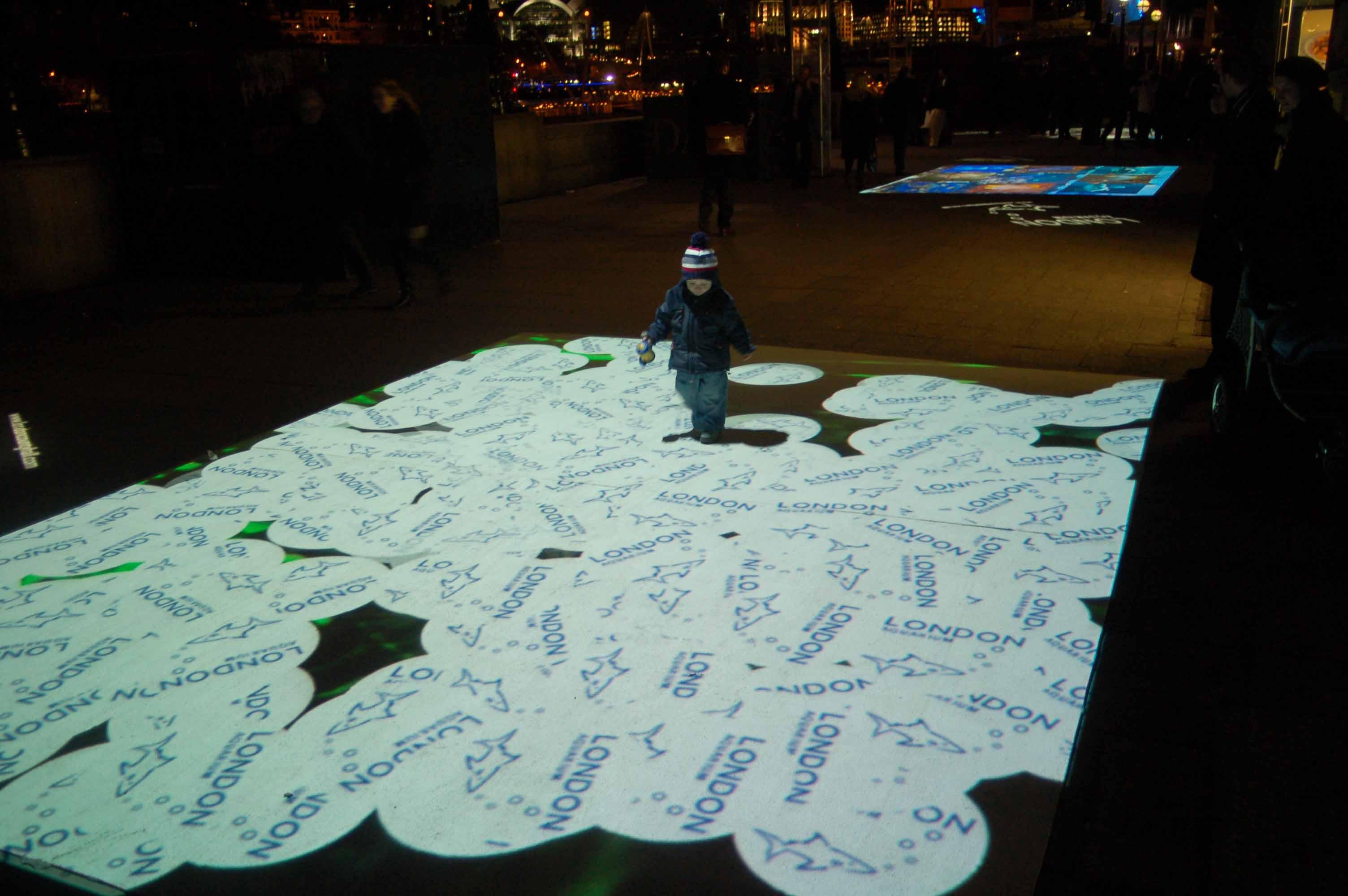 Interactive Street Floor Image