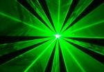 Laser display green