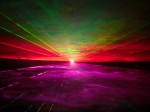Laser flat scan full colour